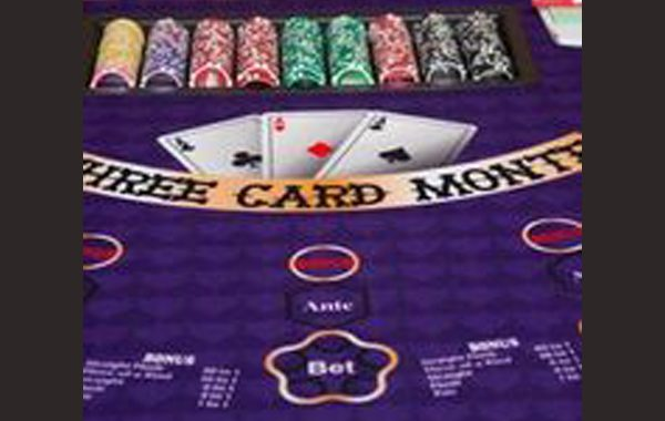 Three Card Monte/3 Card Poker
